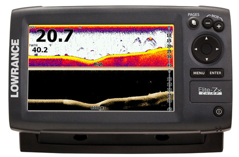 lowrance elite-7x chirp product image