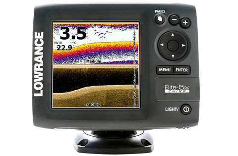 lowrance elite-5x chirp product image