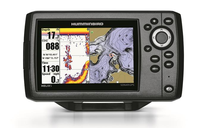 Humminbird 409610 1 helix 5 gps fish finder for Humminbird helix 5 ice fishing