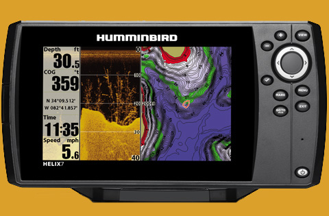 Learn how to read a fishfinder screen fish finding guide for How does a fish finder work