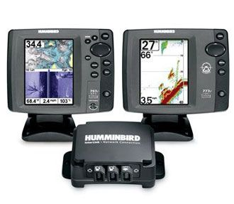 Network type fish finders