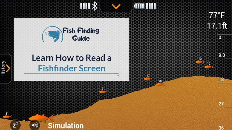 Learn how to read a fishfinder screen fish finding guide for How to read a humminbird fish finder